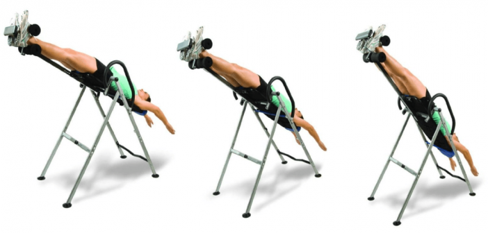 how inversion chair works