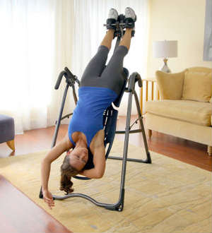 inversion table hanging part of Inversion Table benefits
