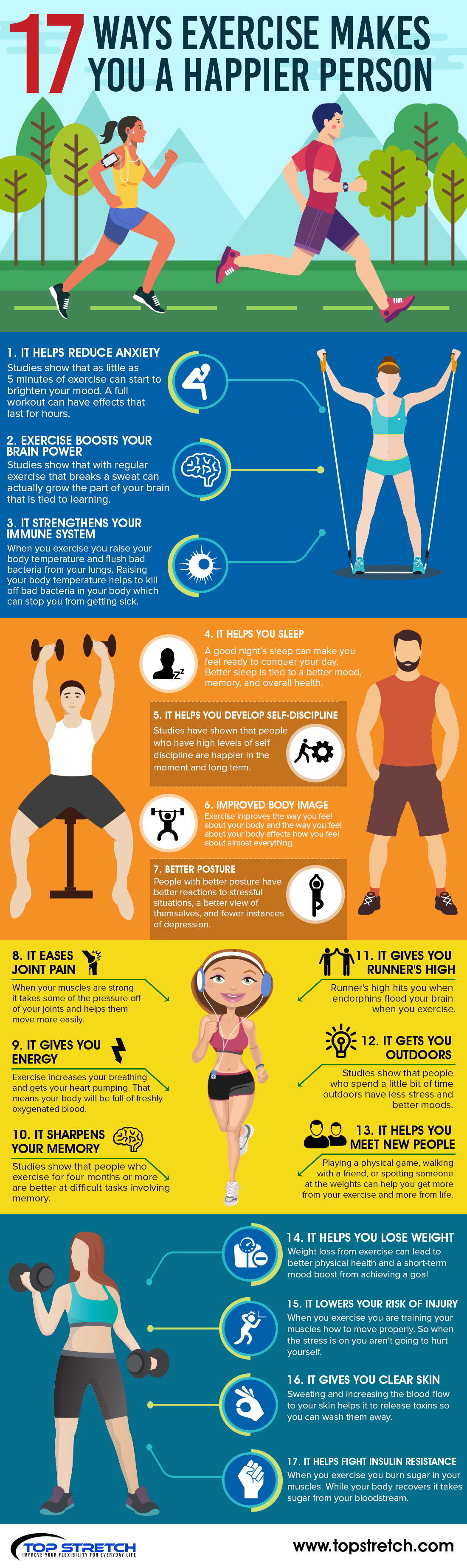 How Exercise Can Make You Happier