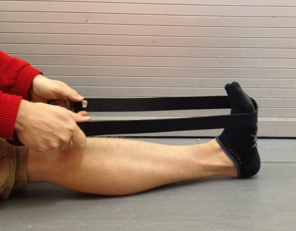 plantar fascia Sitting Foot Stretches
