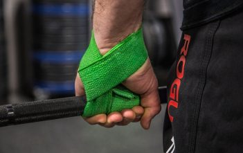 wrist straps in use