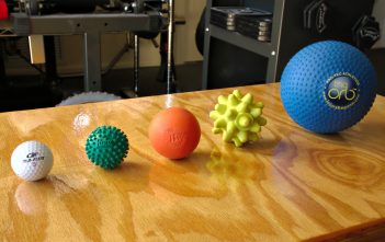 types of massage balls