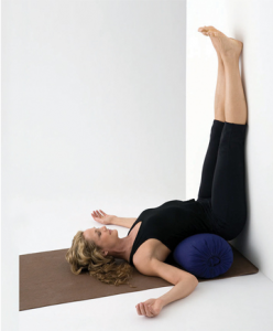 restorative yoga pose 1