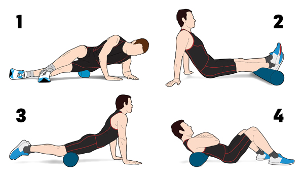 foam roller for hip pain