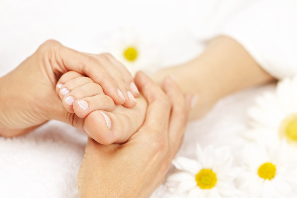 plantar fasciitis foot massage
