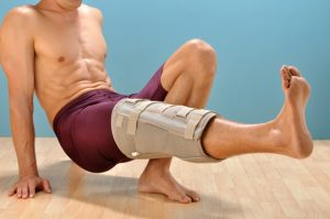 Rehabilitative Knee Brace