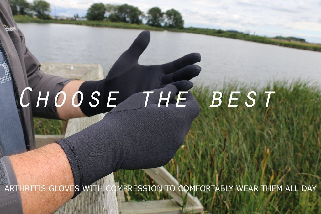 compression gloves for edema