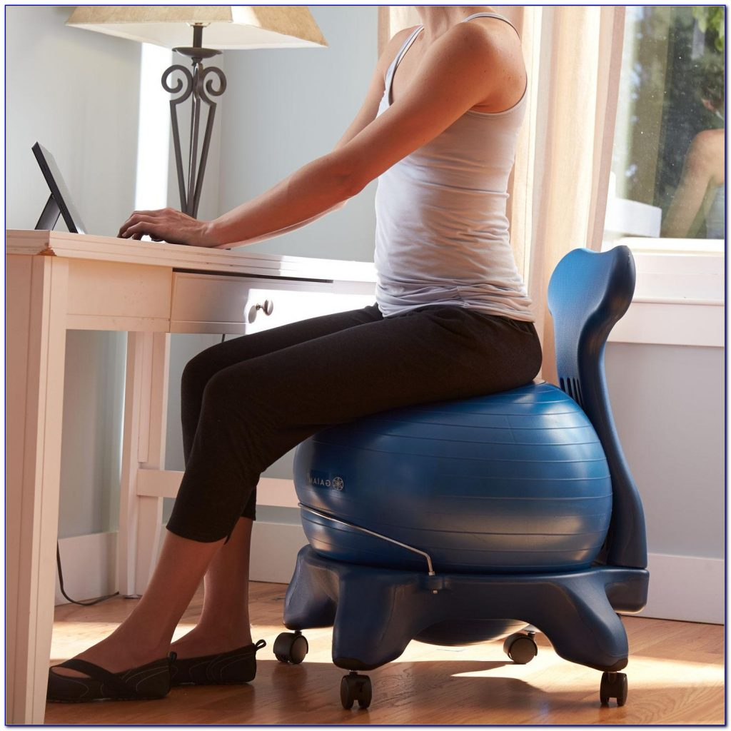 gaiam classic balance ball office chair reviews