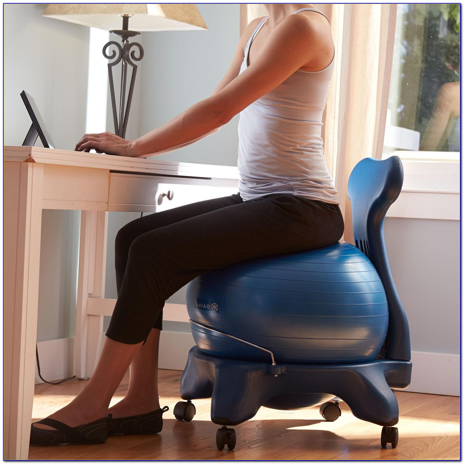 Gaiam Clic Balance Ball Office Chair Reviews