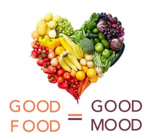 food in relation to mood